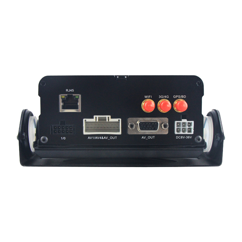 8 channel Mobile DVR with GPS/3G/4G/WIFI/G-SENSOR/RJ45