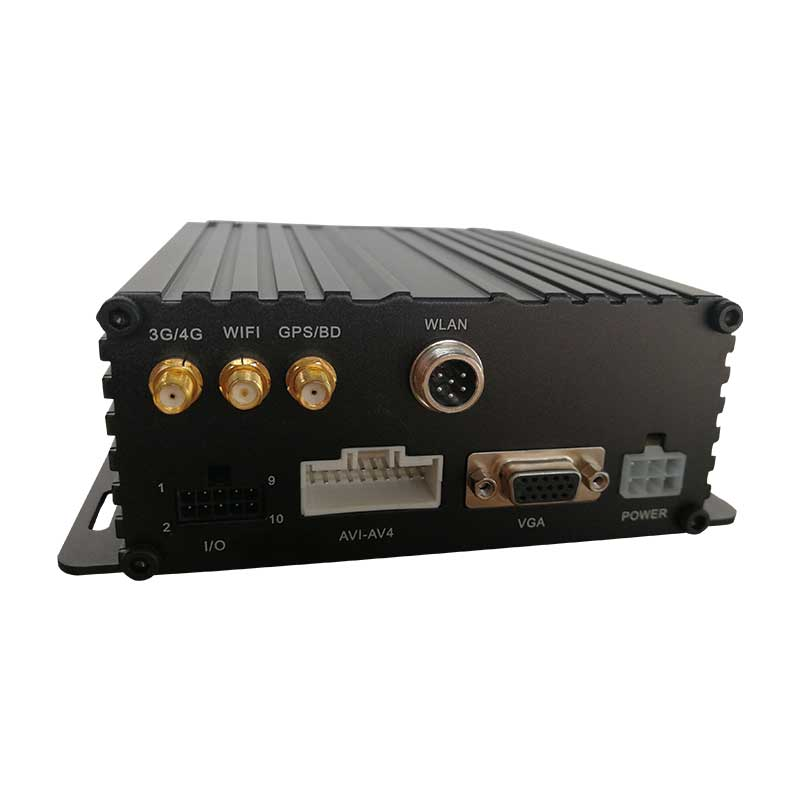 4 channel Mobile DVR with GPS 3G 4G WIFI G-sensor RJ45 IPC