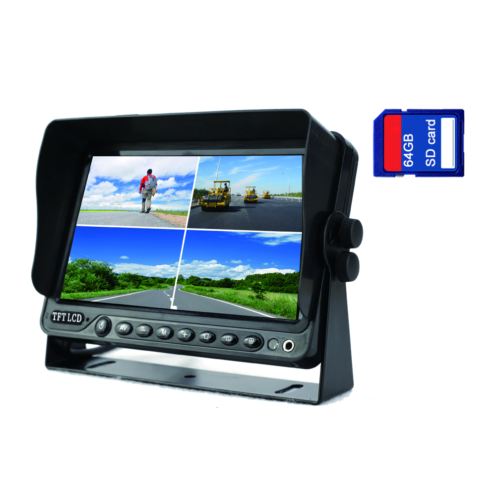 7 inch quad HD monitor