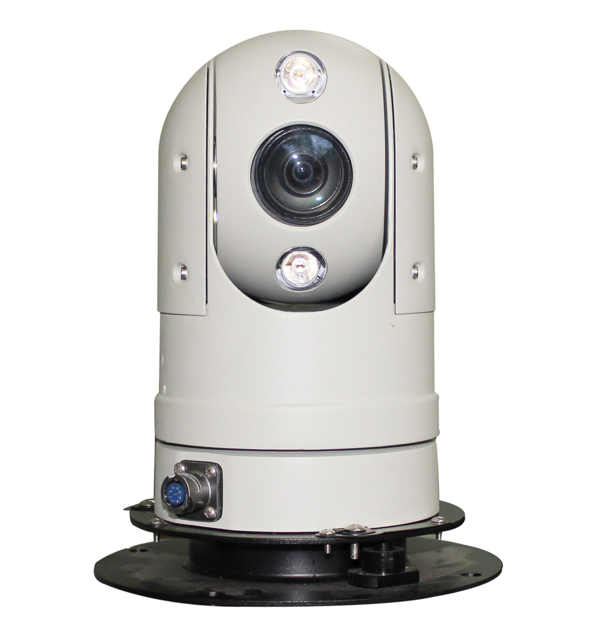 2.0MP HD IR vehicle Dome PTZ Camera for Police cars/Law enforcement vehicles