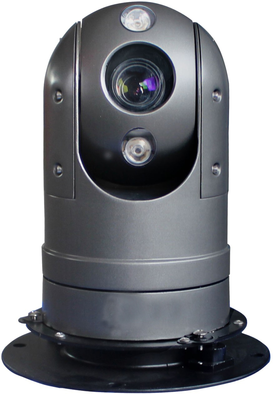 2.0MP HD IR vehicle Dome PTZ Camera for monitoring system