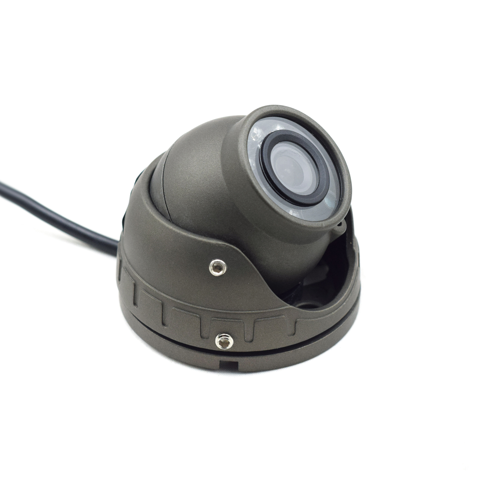 1.3MP/2.0MP AHD Vehicle dome Camera with audio for bus/truck